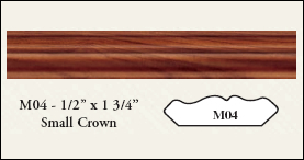 Small Crown RTF Molding - M04