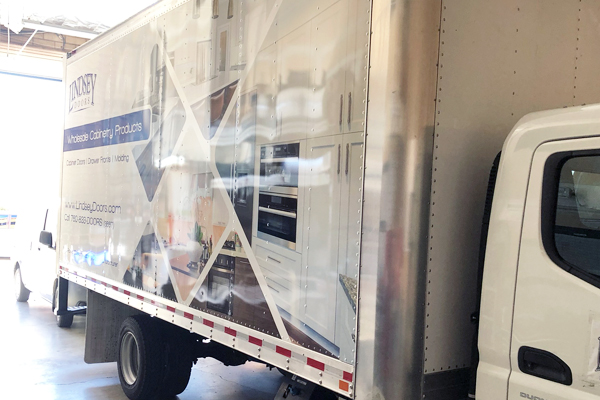 Box Truck Cabinet Door Delivery For Southern California